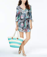 Bar III Tie-Dyed Tunic Cover-Up, Created for Macy's Women's Swimsuit