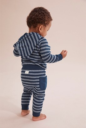 Country Road Organically Grown Cotton Stripe Double Faced Sweat Pant