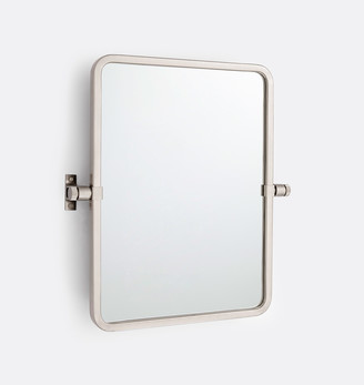 Rejuvenation West Slope Rounded Rectangle Pivot Mirror