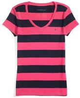 Tommy Hilfiger Short Sleeve Rugby Stripe Tee