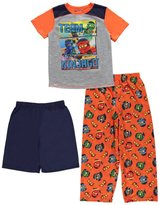 "Lego Ninjago Big Boys' ""Team Ninjago"" 3-Piece Pajamas"