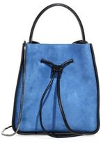 3.1 Phillip Lim Soleil Small Suede Drawstring Bucket Bag