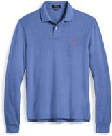 Ralph Lauren Slim Fit Mesh Long-Sleeve Polo