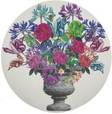 N. Nicolette Mayer Pistils Bouquet Round Pebble Placemats, Set of 4