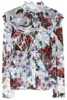 Erdem Kelsy silk blouse