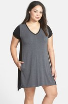 DKNY Plus Size Women's 'Urban Essentials' Sleep Shirt