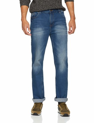 Jacamo Men's Stretch Bootcut Washed Jean