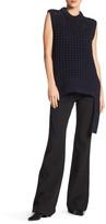 Tibi Pointelle Sleeveless Sweater