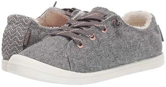 Roxy Bayshore Faux-Fur Lined Shoes (Grey) Women's Shoes