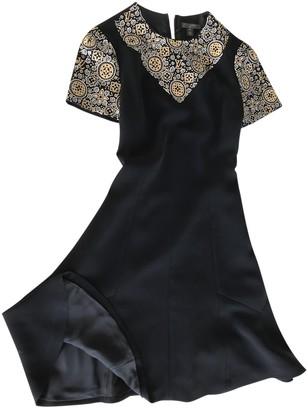 Louis Vuitton Black Polyester Dresses