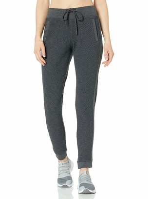 Andrew Marc Women's Puff Knit Jogger Pant
