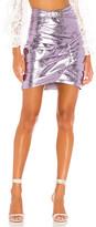 For Love & Lemons Gilette Western Mini Skirt