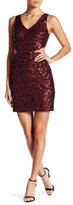 Minuet Sequin Cut-Out Dress