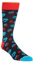 Bugatchi Men's Lip Crew Socks