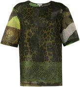 Pierre Louis Mascia Pierre-Louis Mascia - animal print T-shirt - women - Cotton - S