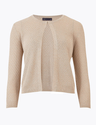 Marks and Spencer Knitted Sparkly Dress Cardigan