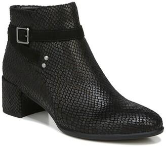 Soul Naturalizer Rachelle Snakeskin Embossed Block Heel Boot - Wide Width Available