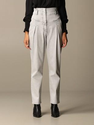 Alberta Ferretti Jeans In Carrots Fit Denim