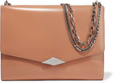 Rochas Palais Royal glossed-leather shoulder bag