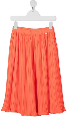 Molo Becky pleated midi skirt