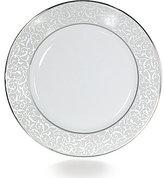 Mikasa Parchment Ivy Scroll Platinum Porcelain Dinner Plate