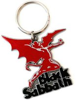 Black Sabbath Keyring Keychain Demon band logo new Official metal
