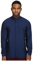 Fred Perry Concealed Placket Oxford Shirt