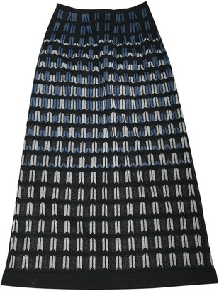 Lanvin Navy Skirt for Women Vintage