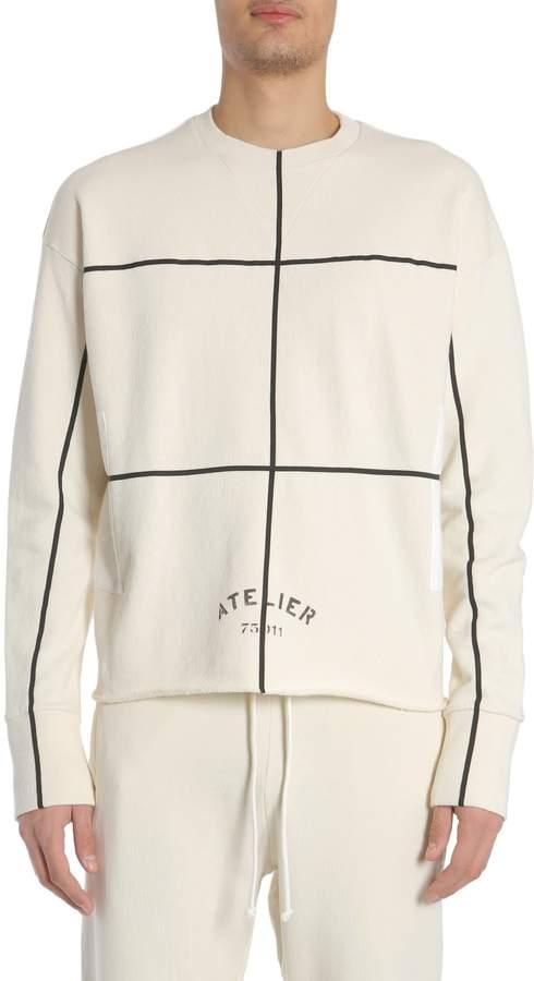 Maison Margiela Round Collar Sweatshirt