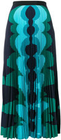 Mary Katrantzou printed pleated maxi skirt