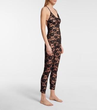 Norma Kamali Lace bodysuit