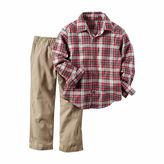 Carter's Boys 2-pc. Long Sleeve Pant Set-Toddler