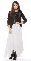 Free People Dot Lovely Lady Maxi Skirt
