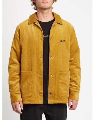 Volcom Benvord Jacket Gold Yellow - M
