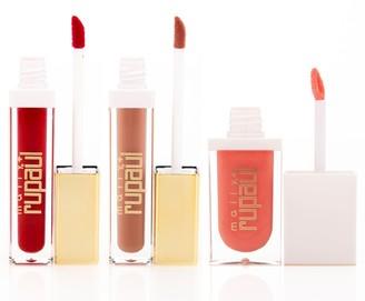 Mally Beauty Mally x RuPaul Polished Liquid Lipstick & Lip Topper 3-Piece Kit