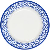 Oscar de la Renta Round Dinner Plate With Tile Border