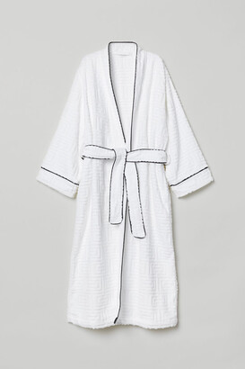 H&M Jacquard-weave dressing gown