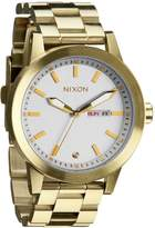 Nixon Women's Corporal A2631219 Gold Stainless-Steel Quartz Watch with Dial