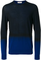 Etro two tone sweater - men - Wool - M
