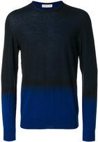 Etro two tone sweater