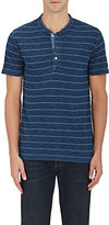 Faherty MEN'S STRIPED COTTON HENLEY