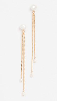 Chan Luu Pearl Drop Earrings