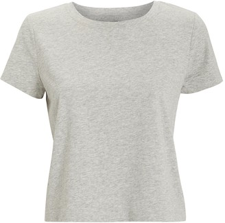 Intermix Classic Cropped Jersey T-shirt