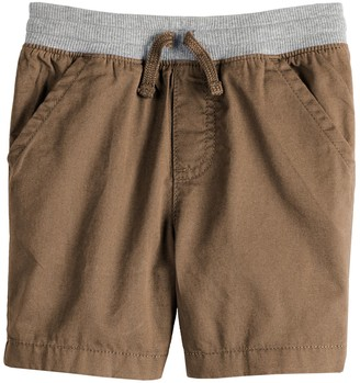 Toddler Boy Jumping Beans Twill Pull On Shorts