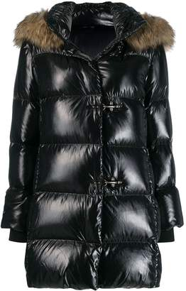 Fay shiny puffer coat