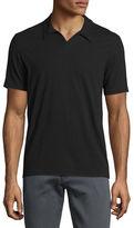 John Varvatos Johnny-Collar Short-Sleeve Polo Shirt