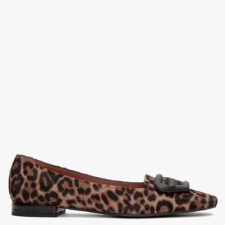 Roberto Festa Aparis Leopard Calf Hair Loafers