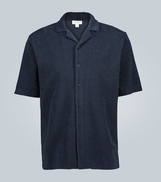 Sunspel Short-sleeved towelling shirt