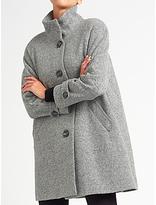 John Lewis Janet Swing Textured Coat