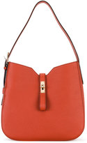 Bally flip lock shoulder bag - women - Leather - One Size
